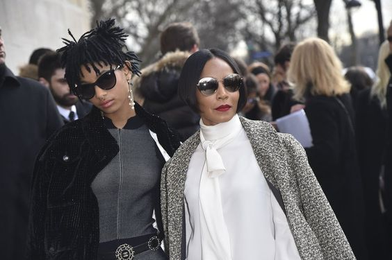 Willow Smith and Jada Pinkett Smith at PFW March 2016 | POPSUGAR Celebrity