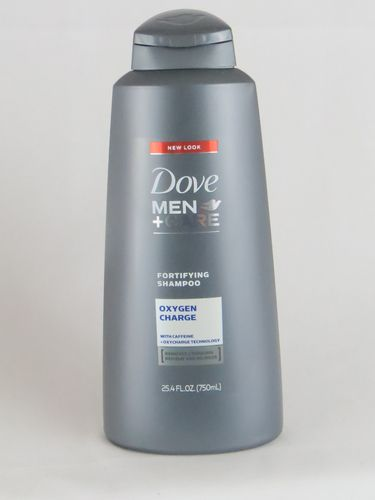 Dove Men + Care Fortifying Shampoo Oxygen Charge with Caffeine, 25.4 fl oz