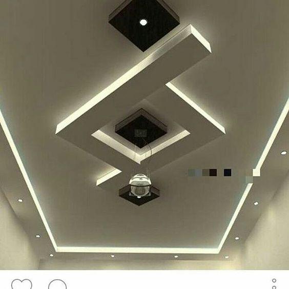 کناف تزئینات مدرن Plaster Ceiling Design Simple Ceiling Design House Ceiling Design