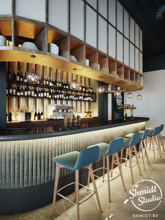 Interior Cafe On Behance Cafe Interior Design Restaurant