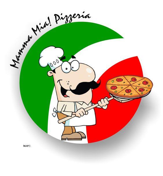 Logotipo para pizzaria.