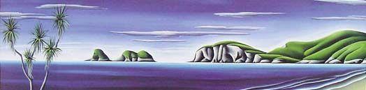 Coromandel Calm by Diana Adams for Sale - New Zealand Art Prints