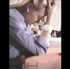 girl sleeping on class fail :D