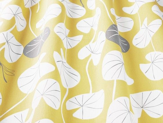 Lilija Saffron Fabric In 2020 Custom Made Curtains How To Make Curtains Fabric