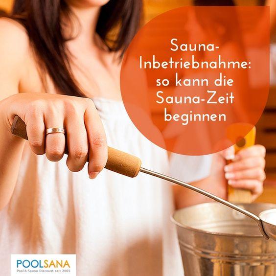 Sauna-Inbetriebnahme: so kann die Sauna-Zeit beginnen #sauna #inbetriebnahme