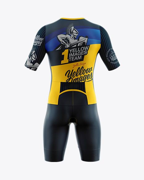 Download Men S Cycling Speedsuit Mockup Back View In Apparel Mockups On Yellow Images Object Mockups Shirt Mockup Design Mockup Free Mockup Psd
