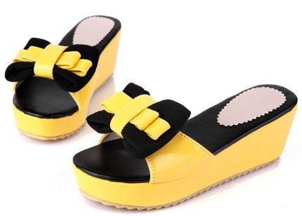 Cool slippers cute sponge cakes comfortable joker shoes - cute