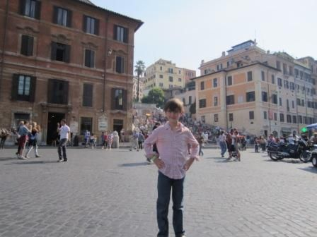 Colin and Spanish Steps