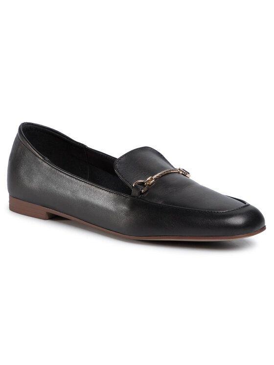 Lordsy P164 Kolor Czarny Dress Shoes Men Loafers Men Oxford Shoes