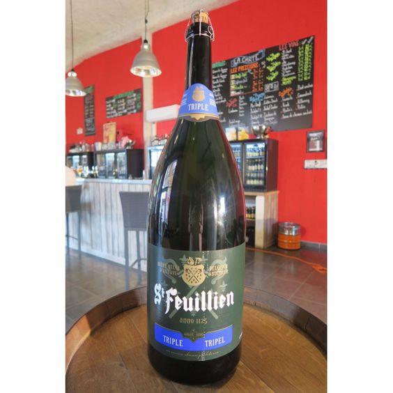 Bia St Feuillien Triple 8,5% - Chai 9000ml