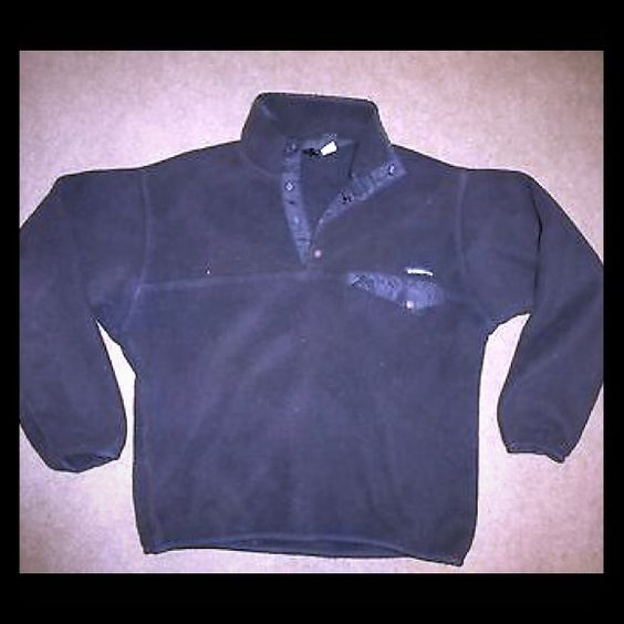 Patagonia snap T pull over Patagonia SnapT fleece pullover, size unisex medium, in great condition! Perfect pullover for every day wear especially during the cooler months! This police pullover is all black and goes with everything! As always, no trades and negotiations through offers only! Patagonia Jackets & Coats
