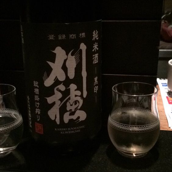刈穂 純米酒 黒印 総槽掛け絞り