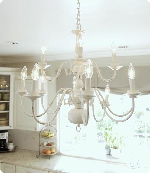How to spray paint a metal chandelier chandelier ideas brassy to classy my free chandelier brass aloadofball Gallery