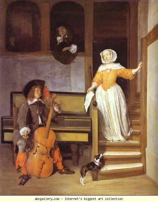 Nicolaes Maes, 1655