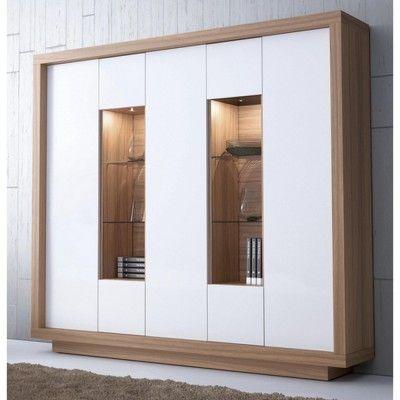Meuble de rangement design avec étagères vitrées Travel UNE EXCLU ATYLIA prix promo Atylia 1 190,00 € TTC au lieu de 2 380,00 €