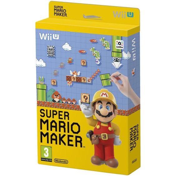 35 € ❤ Top #JeuxVideo - #SuperMarioMaker - Jeu #WiiU ➡ https://ad.zanox.com/ppc/?28290640C84663587&ulp=[[http://www.cdiscount.com/jeux-pc-video-console/wii-u/super-mario-maker-jeu-wii-u/f-1039901-mariomakerwiiu.html?refer=zanoxpb&cid=affil&cm_mmc=zanoxpb-_-userid]]