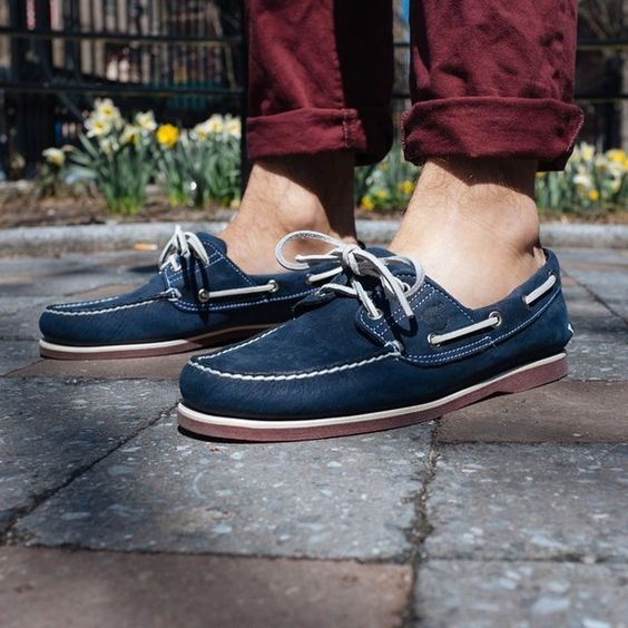 Earthkeepers 2-Eye Boat Shoes by Timberland