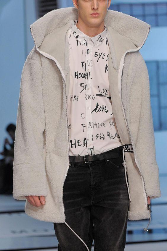 monsieurcouture:  MSGM F/W 2014 Menswear Milan Fashion Week