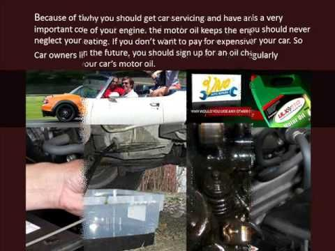 Car Servicing Advice Change Oil - YouTube