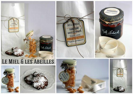Le Miel & les Abeilles Aurélie http://cookandgift.canalblog.com/