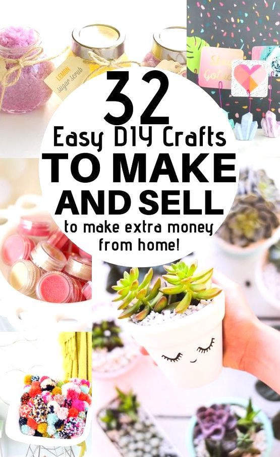 32 Diy Handmade Items That Sell Well These Popular Things To Make And Sell Will Mak Diy Projects To Make And Sell Diy Projects To Sell Crafts To Make And Sell