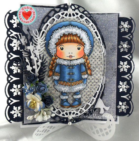 JenniferD's Blog: La-La Land Crafts - October Kit