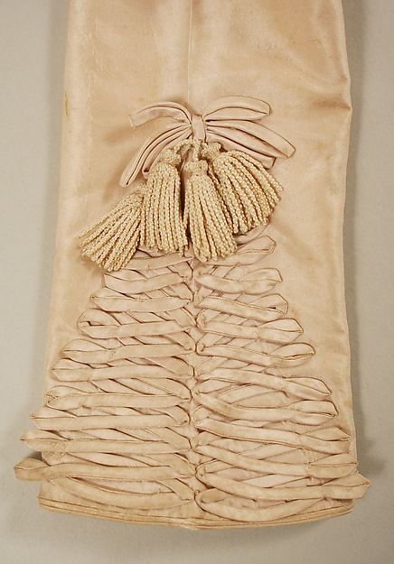 Spencer Date: ca. 1820 Culture: British Medium: silk, willow Dimensions: Length at CB: 18 in. (45.7 cm):