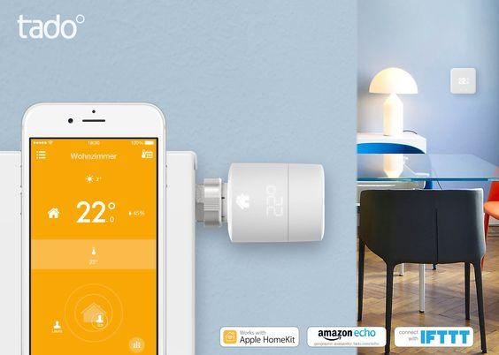 Das Münchener Startup tado zeigt neues Heizkörperthermostat sowie Update für das…