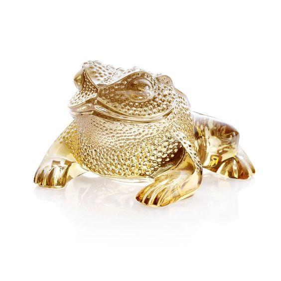 "Lalique ""Gregoire"" Toad Figure"