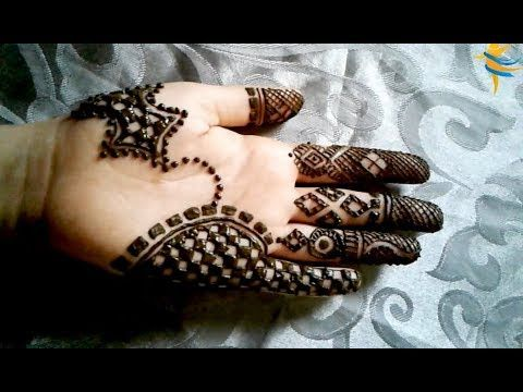 Youtube Simple Mehndi Designs Hand Henna Mehndi Simple