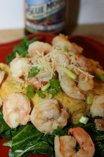 For the Love of Food: Fall Beer Poached Shrimp and Loaded Pumpkin Grits