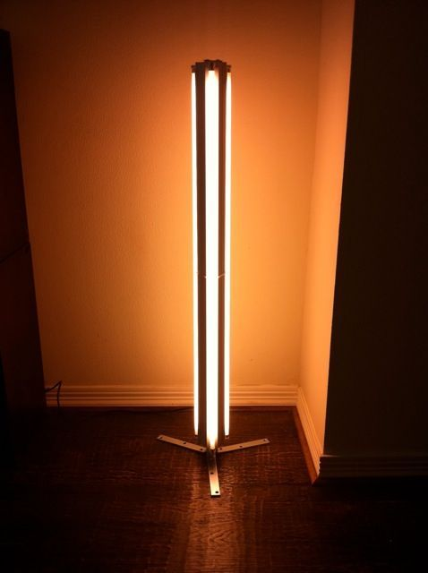 Image Result For Diy Led Floor Lamp Floor Lamp Fluorescent Tube Lamp