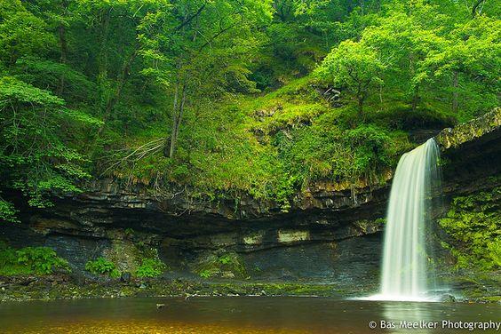Lady Falls - Sgwd Gwladus, Brecon Beacons | Bas Meelker