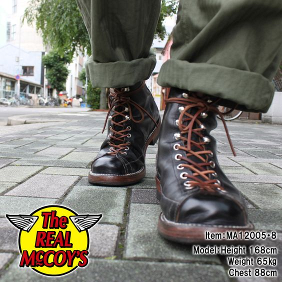 REAL McCOY'S BOOTS   shoes   Pinterest