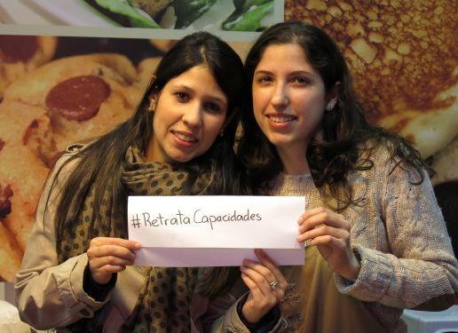 Fernanda y Ximena Sequera (hijas de nuestra querida colaboradora Diana Fernández) se suman a la promoción del concurso desde Madrid... ¡Gracias!