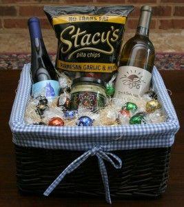 Cheap Wedding Gift Basket Ideas : Holiday gift baskets, Gift basket ideas and Basket ideas on Pinterest
