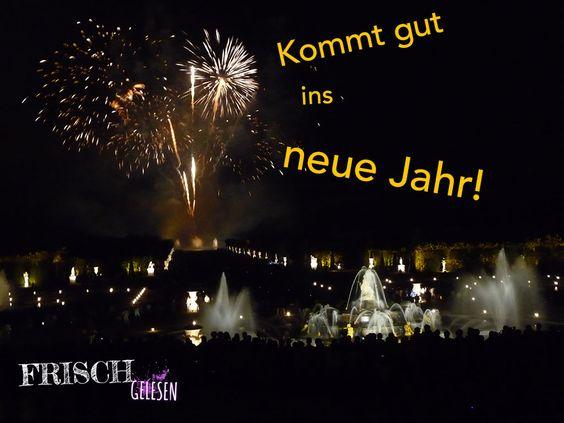 Dieses Feuerwerk gab es im Park von Versailles - aber das Bild passt heute perfekt zu Silvester!