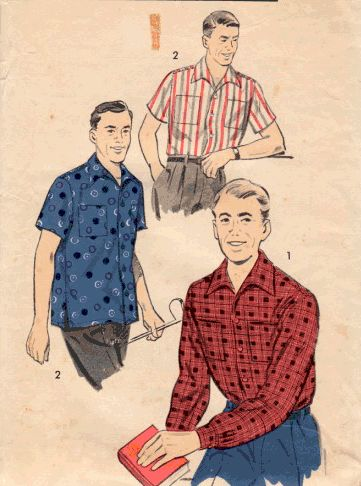 Clothing references (mostly 1920s-1950s)