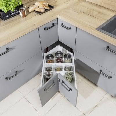 Znalezione Obrazy Dla Zapytania Szafki Narozne Kuchenne Stylish Kitchen Decor Kitchen Furniture Design Modern Kitchen Design