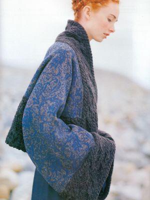 Norwegian knitting designs. 'The season of darkness and winter light'. My dream coat.