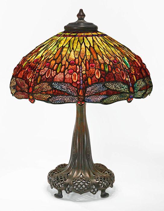 Настольная лампа «Стрекоза» от Tiffany – 2 110 000 долларов