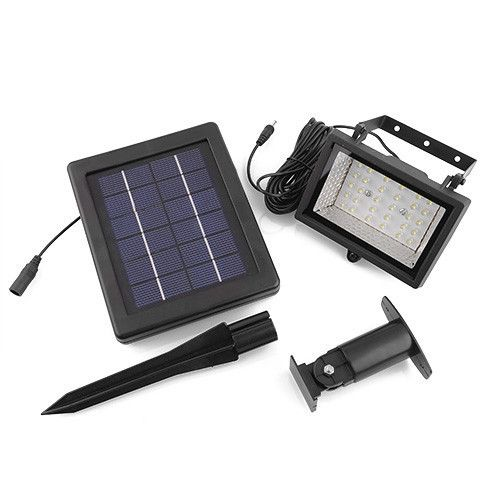 (Buy here: http://appdeal.ru/2se9 ) Outdoor Solar Ultra Bright 30 LED Garden Flood Spot Light Lawn White Yard Lamp Free Shipping for just US $36.88