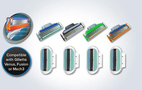Razor blades (FS5 Fusion compat.)