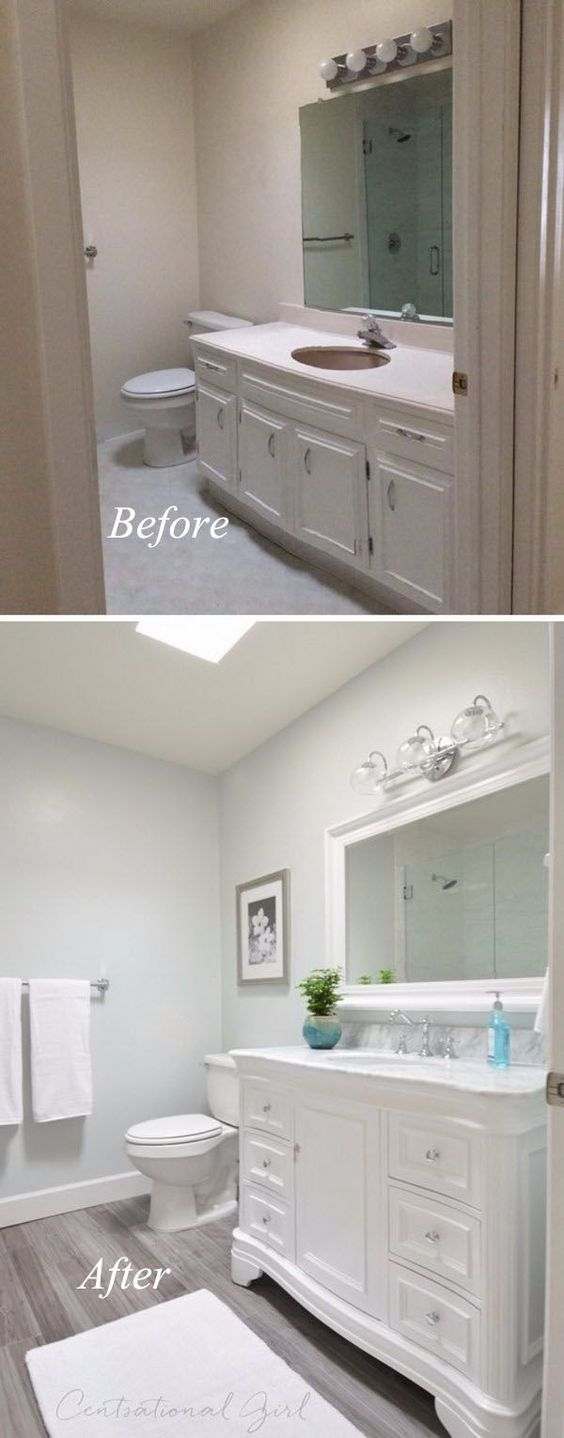 Creative  Earlier than and After: 20+ Superior Rest room Makeovers