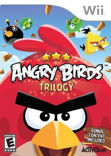 Angry Birds Trilogy, Finally one of the most popular mobile games ever, Angry Birds is flocking to the PlayStation 3. Take command of the giant slingshot and fire the Angry Birds towards their enemy, the egg stealing Space Pigs as they hide behind wood, ice and stone in order to try to escape your revengeful attacks.
