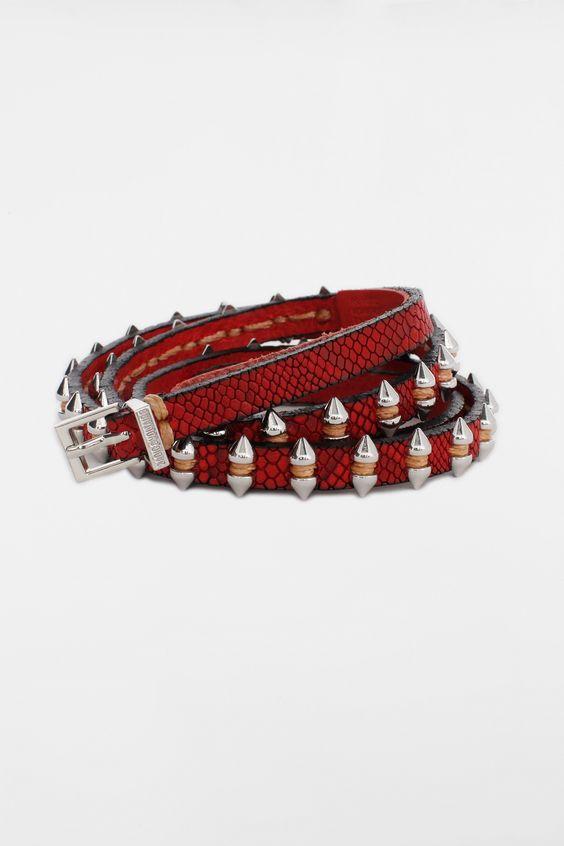 Shark Belt, red, Zadig & Voltaire