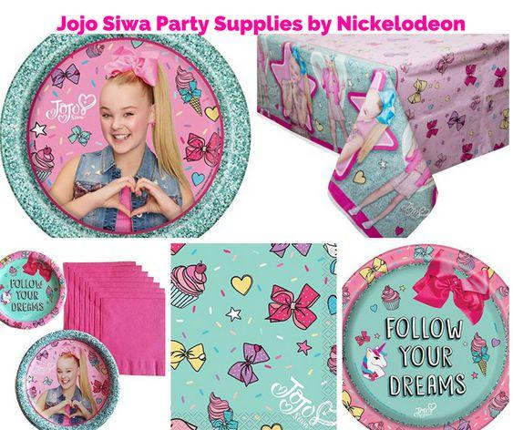 Jojo Siwa Party Supplies by Nickelodeon