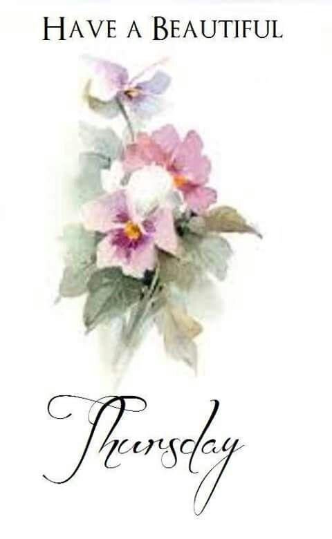 Have a beautiful Thursday ' ❤ï¸Â