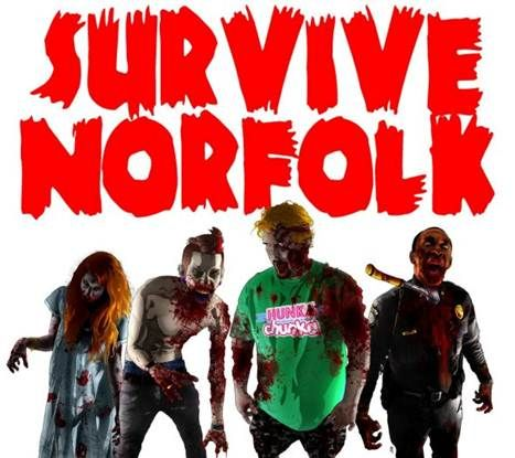 Survive Norfolk, Virginia | Bringing the community together for a game of tag... with Zombies.
