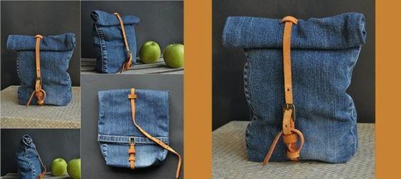 Recycle je oude jeans tot deze hippe denim tas. Beschrijving op x6lifestyle com categorie nieuws